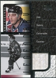 2000/01 Upper Deck Legends Legendary Game Jerseys #JJS Joe Sakic