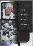 2000/01 Upper Deck Legends Legendary Game Jerseys #JLR Larry Robinson SP