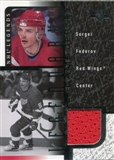 2000/01 Upper Deck Legends Legendary Game Jerseys #JSF Sergei Fedorov