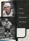 2000/01 Upper Deck Legends Legendary Game Jerseys #JTS Teemu Selanne