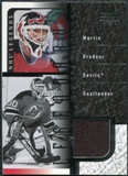 2000/01 Upper Deck Legends Legendary Game Jerseys #JMBR Martin Brodeur