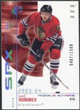 2002/03 Upper Deck SPx Rookie Redemption #R195 Pavel Vorobiev /1500