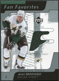 2002/03 Upper Deck Fan Favorites #MM Mike Modano