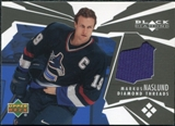 2003/04 Upper Deck Black Diamond Threads #DTMN Markus Naslund