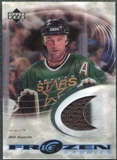 2003/04 Upper Deck Ice Frozen Fabrics #FFBG Bill Guerin