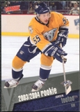 2003/04 Upper Deck Victory #206 Jordin Tootoo RC