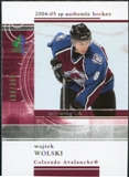 2004/05 Upper Deck SP Authentic Rookie Redemptions #RR8 Wojtek Wolski /399
