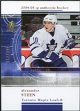 2004/05 Upper Deck SP Authentic Rookie Redemptions #RR28 Alexander Steen /399