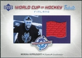 2004/05 Upper Deck World Cup Tribute #MK Miikkaa Kiprusoff