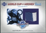 2004/05 Upper Deck World Cup Tribute #OK Olaf Kolzig