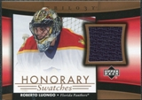 2005/06 Upper Deck Trilogy Honorary Swatches #HSRL Roberto Luongo