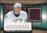 2005/06 Upper Deck Trilogy Honorary Swatches #HSLU Joffrey Lupul