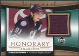 2005/06 Upper Deck Trilogy Honorary Swatches #HSSF Sergei Fedorov