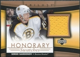2005/06 Upper Deck Trilogy Honorary Swatches #HSSV Sergei Samsonov