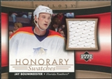 2005/06 Upper Deck Trilogy Honorary Swatches #HSJB Jay Bouwmeester