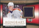 2005/06 Upper Deck Trilogy Honorary Swatches #HSNH Nathan Horton