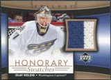 2005/06 Upper Deck Trilogy Honorary Swatches #HSOK Olaf Kolzig