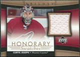 2005/06 Upper Deck Trilogy Honorary Swatches #HSCJ Curtis Joseph