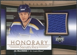 2005/06 Upper Deck Trilogy Honorary Swatches #HSAM Al MacInnis