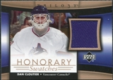 2005/06 Upper Deck Trilogy Honorary Swatches #HSDC Dan Cloutier