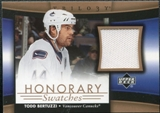 2005/06 Upper Deck Trilogy Honorary Swatches #HSTB Todd Bertuzzi