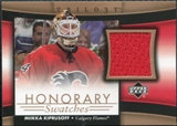 2005/06 Upper Deck Trilogy Honorary Swatches #HSMK Miikka Kiprusoff