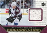 2005/06 Upper Deck Shooting Stars Jerseys #SJS Joe Sakic