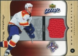 2005/06 Upper Deck MVP Materials #MSW Stephen Weiss