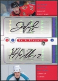 2005/06 Upper Deck Be A Player Dual Signatures #IM Jarome Iginla Patrick Marleau Autograph