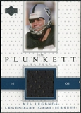 2000 Upper Deck Legends Legendary Jerseys #LJJP Jim Plunkett