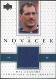 2000 Upper Deck Legends Legendary Jerseys #LJNO Jay Novacek