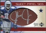 2005 Upper Deck Sweet Spot Sweet Panel Signatures #SPJJ Julius Jones Autograph /50