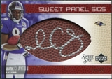 2005 Upper Deck Sweet Spot Sweet Panel Signatures #SPMA Mark Clayton Autograph /50