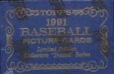 1991 Topps Tiffany Traded & Rookies Baseball Factory Set