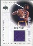 2000 Upper Deck Lakers Master Collection Game Jerseys #KAJ Kareem Abdul-Jabbar /300
