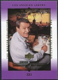 2000 Upper Deck Lakers Master Collection #21 Chick Hearn /300