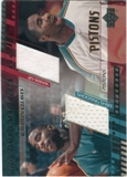 2000/01 Upper Deck Combo Materials #MCCM Mateen Cleaves