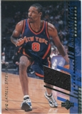 2000/01 Upper Deck Game Jerseys 2 #LSC Latrell Sprewell