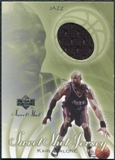 2001/02 Upper Deck Sweet Shot Game Jerseys #KM Karl Malone