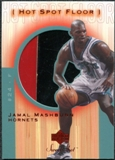 2001/02 Upper Deck Sweet Shot Hot Spot Floor #JMF Jamal Mashburn