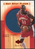 2001/02 Upper Deck Sweet Shot Hot Spot Floor #JTF Jason Terry