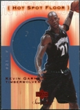 2001/02 Upper Deck Sweet Shot Hot Spot Floor #KGF Kevin Garnett
