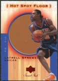 2001/02 Upper Deck Sweet Shot Hot Spot Floor #LSF Latrell Sprewell