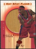2001/02 Upper Deck Sweet Shot Hot Spot Floor #QRF Quentin Richardson