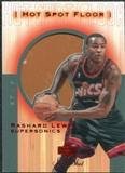 2001/02 Upper Deck Sweet Shot Hot Spot Floor #RLF Rashard Lewis