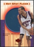 2001/02 Upper Deck Sweet Shot Hot Spot Floor #SHF Shawn Marion
