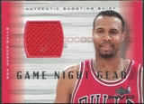 2001/02 Upper Deck MVP Game Night Gear #RMG Ron Mercer