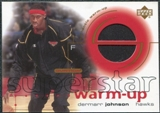 2001/02 Upper Deck Ovation Superstar Warm-Ups #DJ DerMarr Johnson