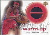 2001/02 Upper Deck Ovation Superstar Warm-Ups #KD Keyon Dooling