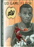 2001/02 Upper Deck Hardcourt UD Game Floor #DM Desmond Mason